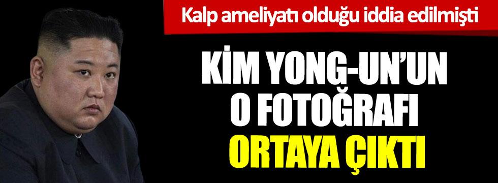 Kalp ameliyatı olduğu iddia edilmişti, Kim Yong- Un'un o fotoğrafı ortaya çıktı