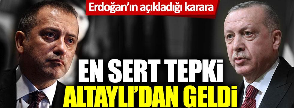 Fatih Altaylı'dan Tayyip Erdoğan'ın AVM kararına sert tepki