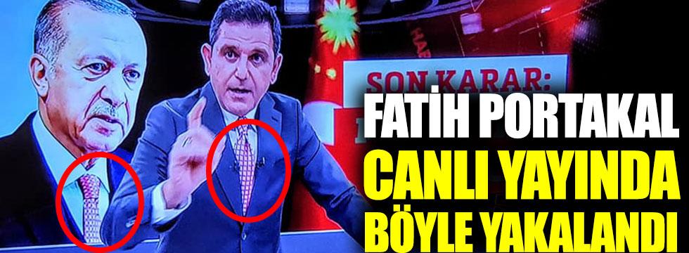 Fatih Portakal canlı yayında pişti oldu