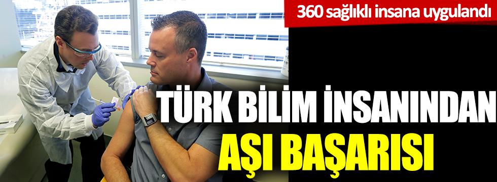 Türk bilim insanından aşı başarısı