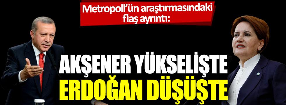 Metropoll'ün araştırmasındaki flaş ayrıntı: Akşener yükselişte, Erdoğan düşüşte