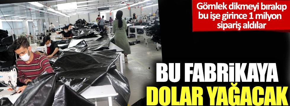 Bu fabrikaya dolar yağacak: Gömlek dikmeyi bırakıp bu işe girince 1 milyon sipariş aldılar!