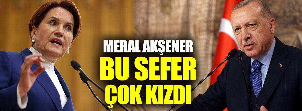 Meral Akşener'den Cumhurbaşkanı Tayyip Erdoğan'a Habertürk çıkışı