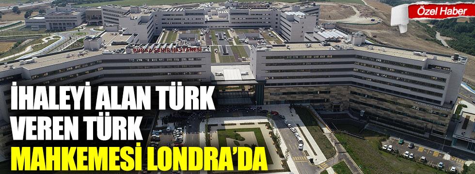 İhaleyi veren ve alan Türk mahkeme ise Londra'da