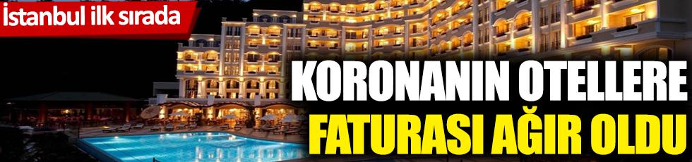 Koronanın otellere faturası ağır oldu