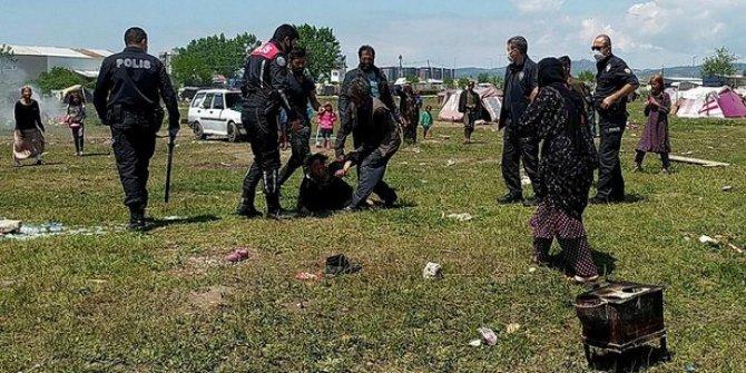 Bursa'da 15 aile çocuklar yüzünden birbirine girdi: 4 yaralı