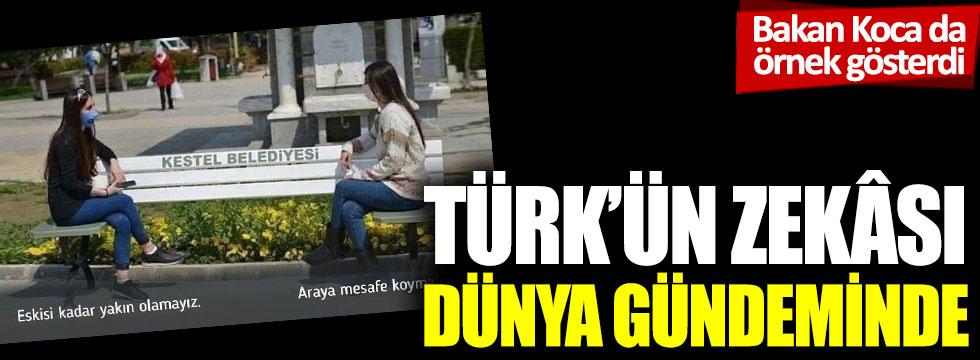 Bakan Koca da örnek gösterdi: Türk'ün zekâsı dünya gündeminde