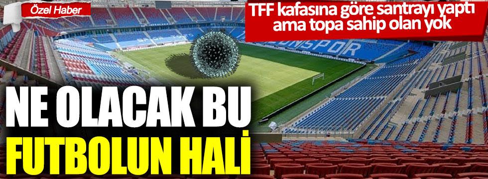 TFF kafasına göre santrayı yaptı ama topa sahip olan yok: Ne olacak bu futbolun hali