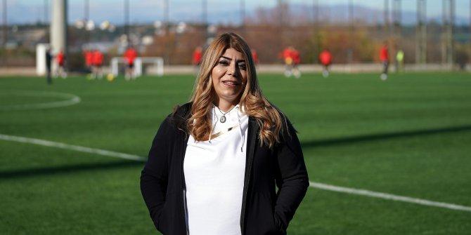Kayserisporlu futbolcular, başkanları Berna Gözbaşı'nı unutmadı