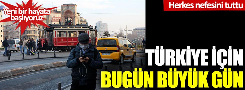 Nefesler tutuldu: Türkiye için bugün büyük gün!