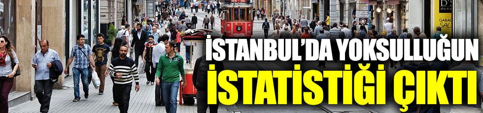 İstanbul'da yoksulluğun istatistiği çıktı