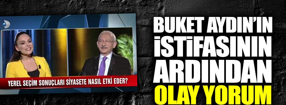 Buket Aydın'ın istifasının ardından Nuran Yıldız'dan olay yorum