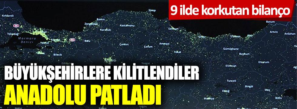 Büyükşehirlere kilitlendiler Anadolu patladı