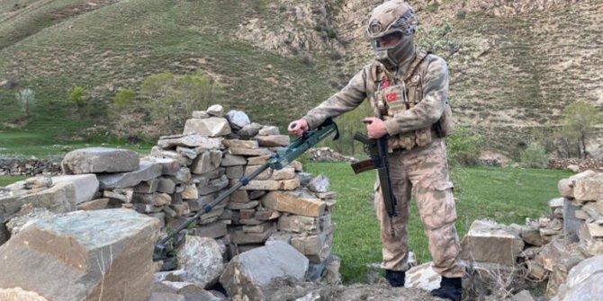 Terör örgütü PKK'nın suikast silahları bulundu!