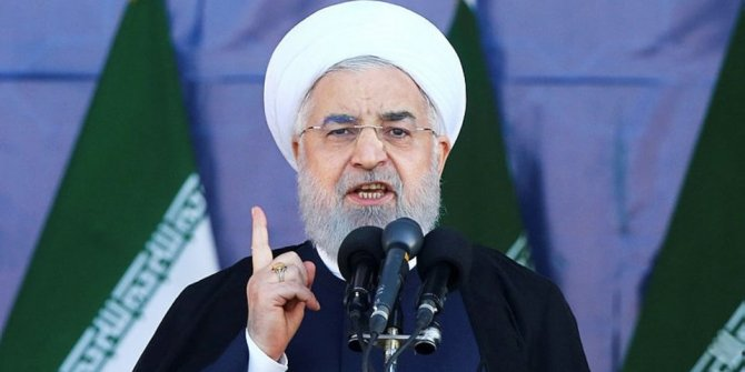 Ruhani, ABD ve Suudi Arabistan'ı hedef aldı