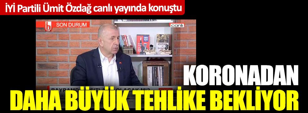 İYİ Partili Ümit Özdağ Halk TV canlı yayınında konuştu