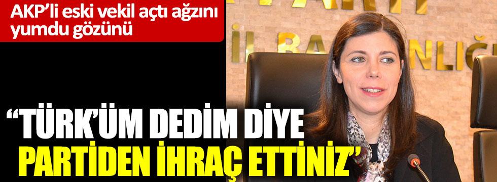 AKP'den ihraç edilen Pelin Gündeş'ten, AKP'ye milliyetçilik tepkisi