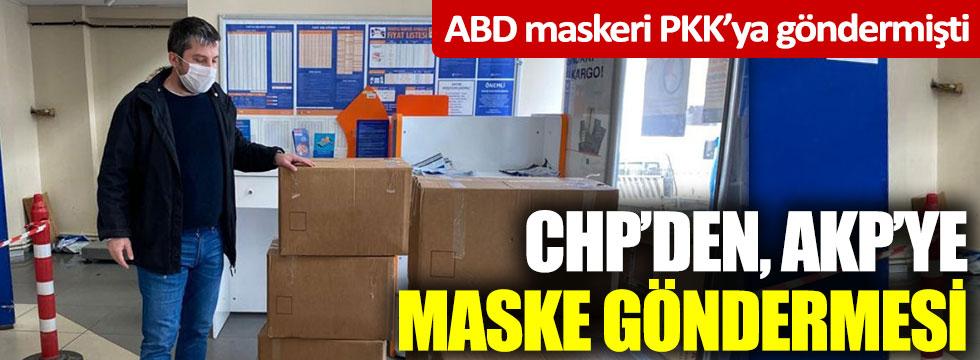 CHP'den AKP'ye maske göndermesi