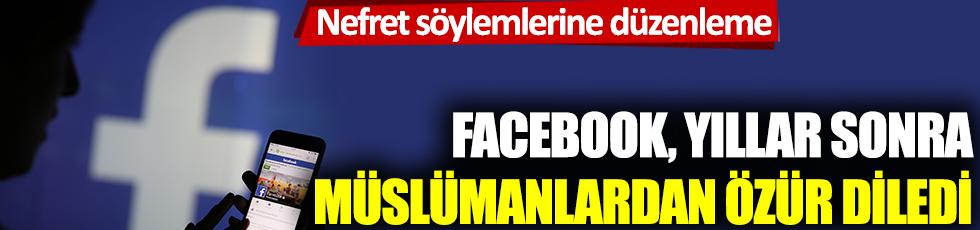 Facebook, Müslümanlardan özür diledi