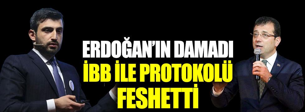 Erdoğan'ın damadı İBB ile protokolü feshetti