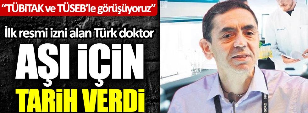 Korona virüs aşısı için ilk test iznini alan Türk doktor Uğur Şahin aşı için tarih verdi