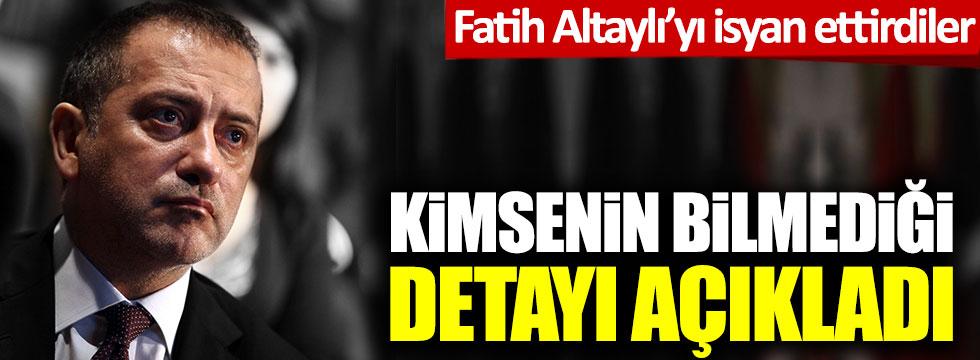 Fatih Altaylı'yı da isyan ettirdiler: Kimsenin bilmediği detayı açıkladı