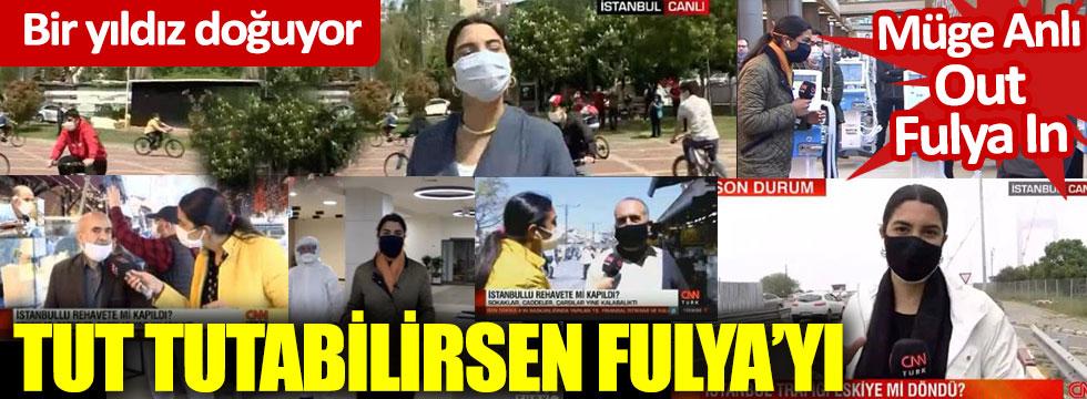Tut tutabilirsen: CNN Türk'ün korkusuz kızı Fulya Öztürk her yerde
