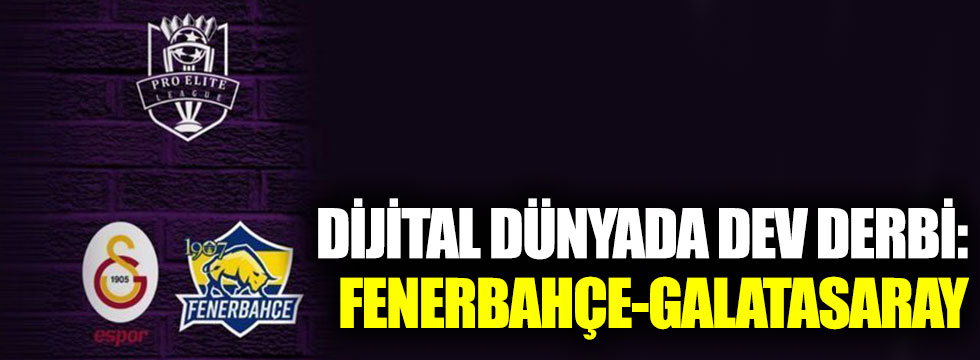 Fenerbahçe ve Galatasaray'ın e-spor takımları FIFA'da karşı karşıya geliyor!