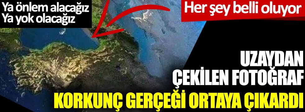 Uzaydan çekilen fotoğraf korkunç gerçeği ortaya çıkardı: Ya önlem alacağız ya yok olacağız