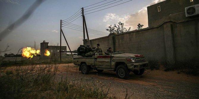 Hafter milislerine ait SİHA imha edildi