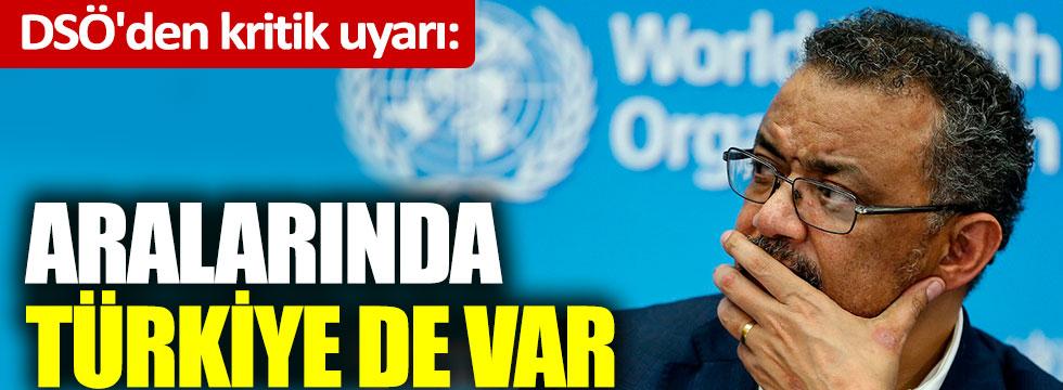DSÖ'den kritik uyarı: Aralarında Türkiye de var