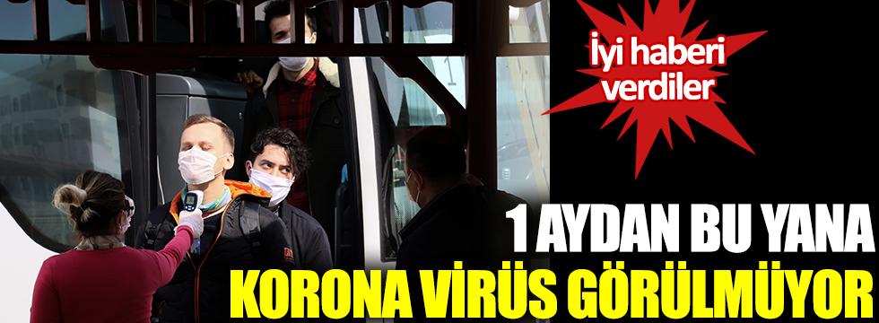İyi haberi verdiler: 1 aydan bu yana korona virüs görülmüyor