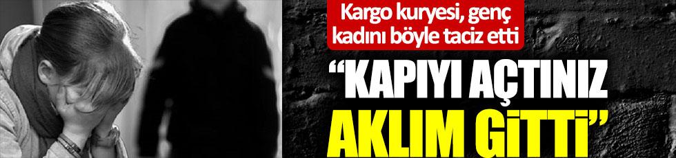 """MNG Kargo'da skandal olay! Kuryeden genç kadına taciz: """"Kapıyı açtınız, aklım gitti"""""""