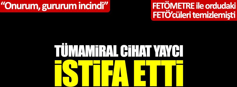 Son dakika: Nedim Şener duyurdu: Cihat Yaycı istifa etti