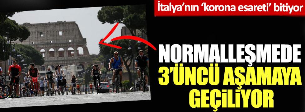 İtalya'nın 'korona esareti' bitiyor: Normalleşmede üçüncü aşamaya geçiliyor!
