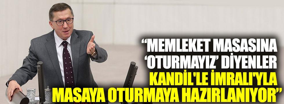 İYİ Partili Türkkan: Memleket masasına 'oturmayız' diyenler Kandil'le İmralı'yla masaya oturmaya hazırlanıyor