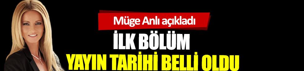 Programı yayından kaldırılan Müge Anlı'da müjde: Müge Anlı'nın yayın tarihi belli oldu. Müge Anlı ile Tatlı Sert ne zaman başlayacak?