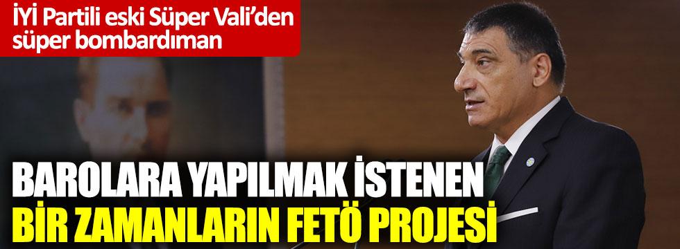 İYİ Partili Nuri Okutan: Hükümetin baro yapısını değiştirme planı FETÖ projesi