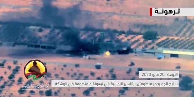 Hafter'in 9 hava savunma sistemi imha edildi