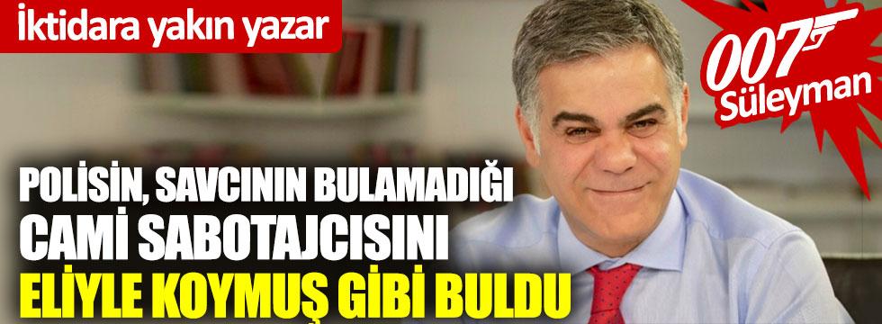 İktidara yakın yazar, İzmir'deki cami skandalının failini buldu!