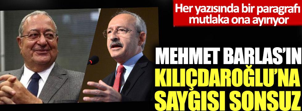 Her yazısında bir paragrafı mutlaka ona ayırıyor: Mehmet Barlas'ın Kılıçdaroğlu'na saygısı sonsuz!