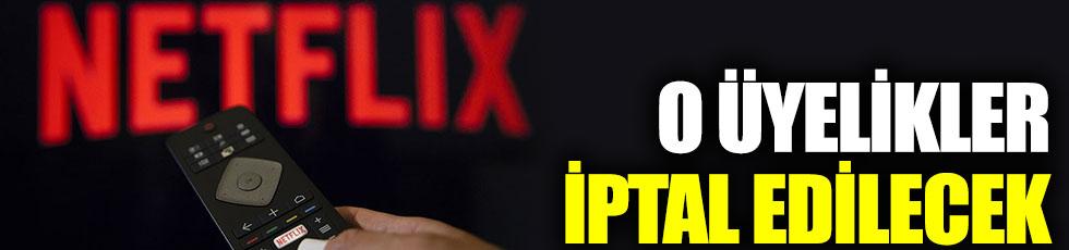 Netflix'ten 'aktif olmayan kullanıcılar' için karar