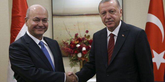 Erdoğan ile Salih'i görüştü