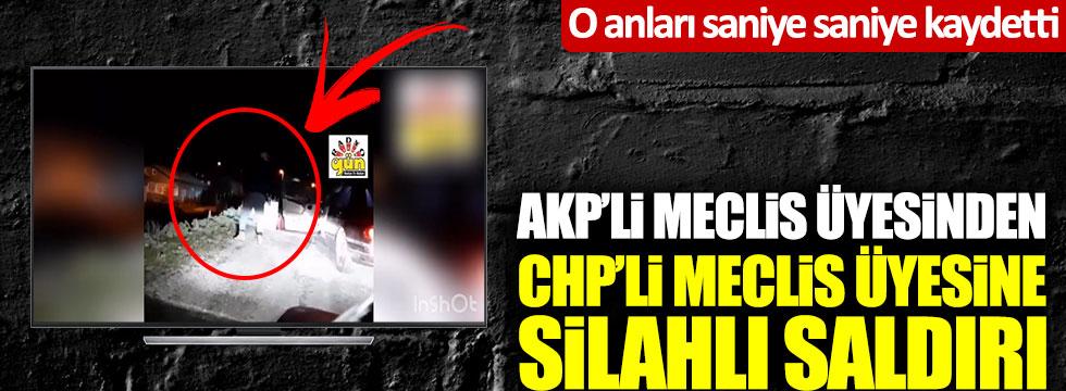 Çorum'da AKP'li Meclis üyesinden CHP'li Meclis üyesine silahlı saldırı