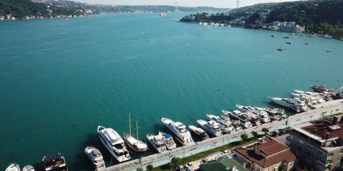 İstanbul Boğazı turkuaz renge bürünmüştü! İşte nedeni