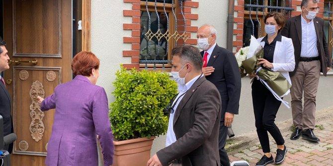 Kılıçdaroğlu ve İmamoğlu'ndan Akşener'e bayram ziyareti
