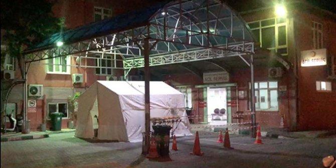 Devlet hastanesinde korona paniği: Bütün hastalar sevk edildi