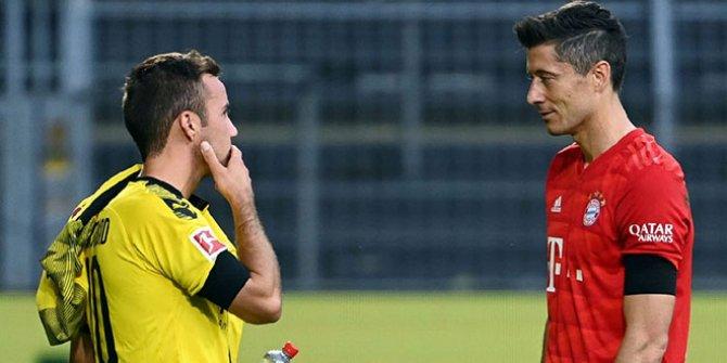 Borussia Dortmund-Bayern Münih maçında yaşandı: N'aptın oğlum sen