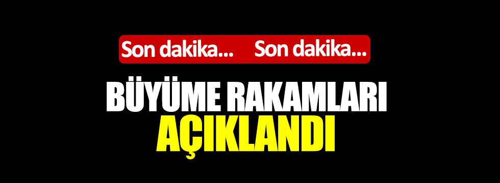 Türkiye yüzde 4,5 büyüdü