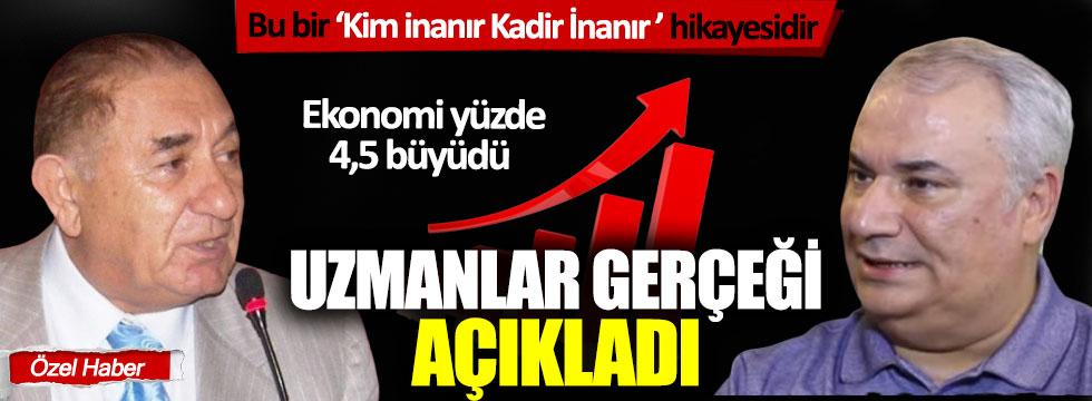 Türkiye ekonomisi yüzde 4,5 büyüdü: Uzmanlar gerçeği açıkladı!